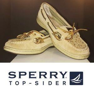 Sperry rhinestone top-sliders